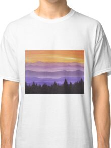 Canadian Mountains Classic T-Shirt