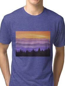 Canadian Mountains Tri-blend T-Shirt