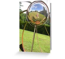 Bubble View Greeting Card
