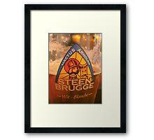 belgium beer Framed Print