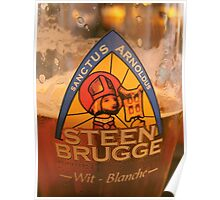 belgium beer Poster