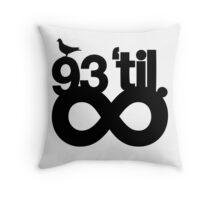 pbbyc - 93' till Infinity Throw Pillow
