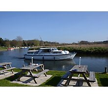Norfolk Broads Cruiser Photographic Print