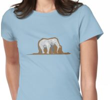 The Little Prince - Boa Constrictor Digesting an Elephant Womens Fitted T-Shirt