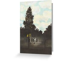 Postcards from Europe - Empire of light Greeting Card