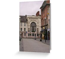 Evening at The Salutation Hotel, Perth (UK) Greeting Card