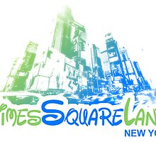 Times Square Land, New York by icoNYC