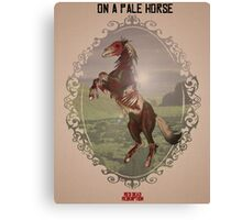 On a Pale Horse Canvas Print