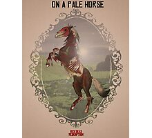 On a Pale Horse Photographic Print