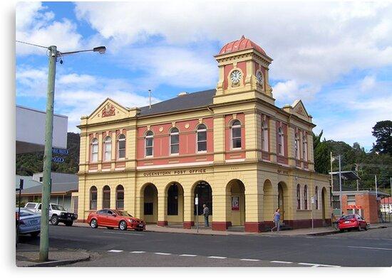 Queenstown Post Office by John Vriesekolk