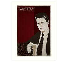 Twin Peaks - Dale Cooper Art Print