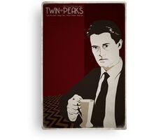 Twin Peaks - Dale Cooper Canvas Print