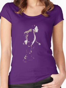 Twin Peaks - Man From Another Place Women's Fitted Scoop T-Shirt