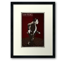 Twin Peaks - Man From Another Place Framed Print