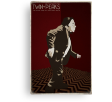 Twin Peaks - Man From Another Place Canvas Print