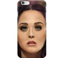 Katy Perry Painting iPhone Case/Skin