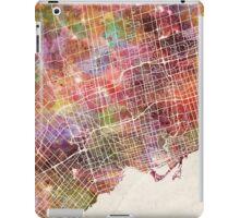 Toronto map iPad Case/Skin