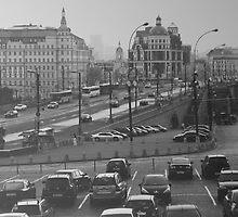 Moscow, life in a big city by Kristina Bychkova
