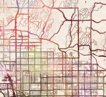 Tucson map Sticker