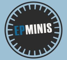 EPMINIS Officially Unofficial logo (in BLUE) by Vince Diaz