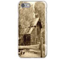 Little Log Cabin. iPhone Case/Skin