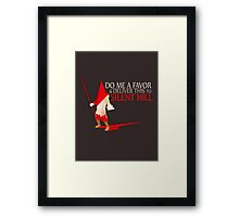 Silent Hill Delivery Framed Print