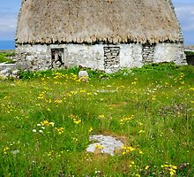 Derelict Cottage, Inishmore by Simon Bowen