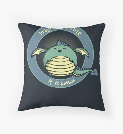 It Is Known Throw Pillow