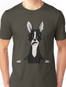 Boston Terrier Illustration Unisex T-Shirt