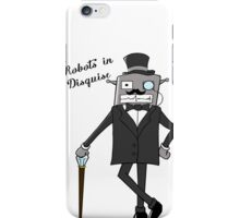 Robots in Disguise iPhone Case/Skin