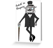 Robots in Disguise Greeting Card