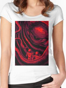 CTHULHU OUT OF SPACE Women's Fitted Scoop T-Shirt