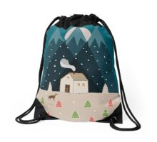 Winterworm Drawstring Bag