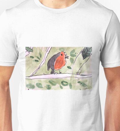 Red Wren by Lexie Uryszek Unisex T-Shirt