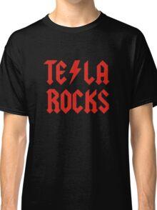 Tesla Rocks Classic T-Shirt