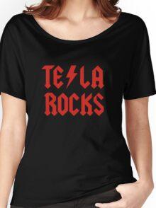 Tesla Rocks Women's Relaxed Fit T-Shirt