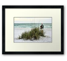 A Peaceful Sunset on Pass-A-Grille Beach Framed Print