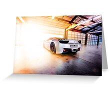 Ready to Race Greeting Card