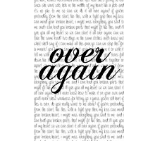 """Over Again"" One Direction lyrics by laufeyson"