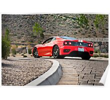 Ferrari 360 Challenge Stradale Poster