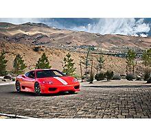 Ferrari 360 Challenge Stradale Photographic Print