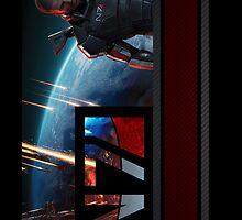 N7 Mass Effect 3 by FancyRobot