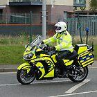 Kawasaki police motorbike by justbmac