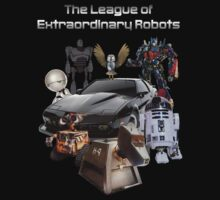 The League of Extraordinary Robots T-Shirt