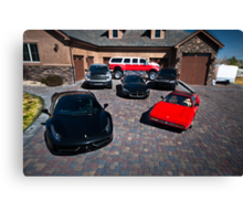 Dream Garage Canvas Print