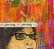 Learning from Yesterday - Journal Art - WIP by © Angela L Walker