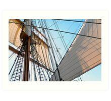 Barque At The Bay Art Print