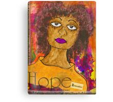 HOPE for Tomorrow - Journal Art Canvas Print