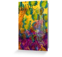 LIVE for Today - Journal Art - WIP Greeting Card