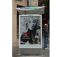 Coca Cola in Cannes, Photographic Print